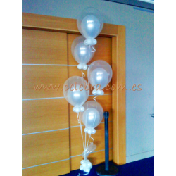 Bouquet doble burbuja